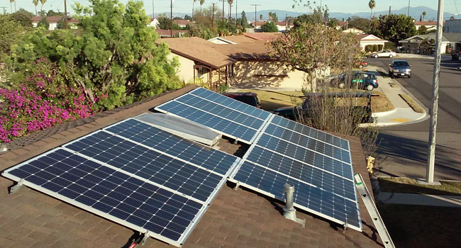 Solar Panels Residential Installation